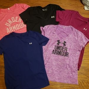 Under Armour 5 shirts